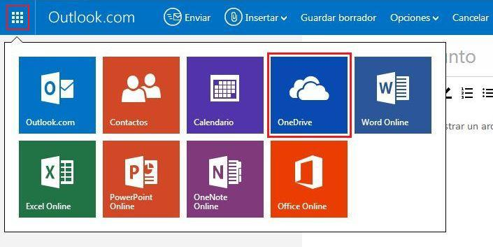 OneDrive con Hotmail