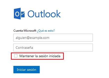Mantener mi correo electrónico hotmail abierto