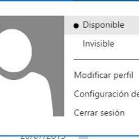 mostrar_como_disponible o invisible en hotmail